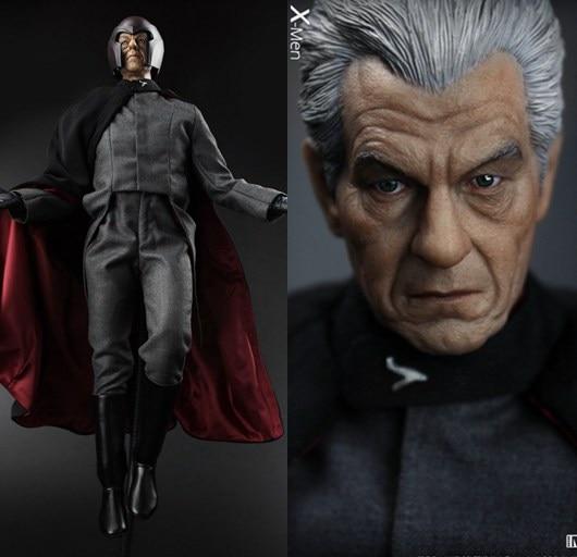 1/6 scale Figure doll Max Eisenhardt X-Men Magneto Ian McKellen.12 action figures doll.Collectible figure model toy gift