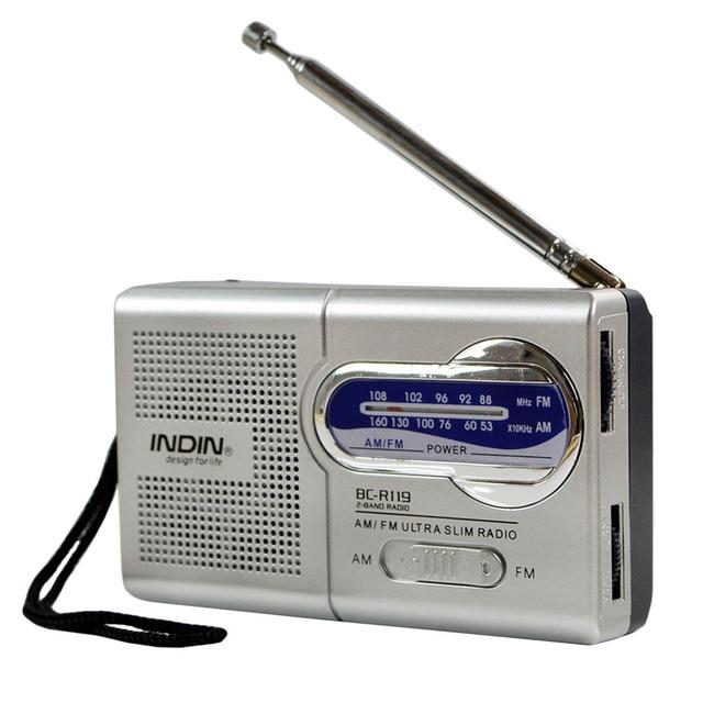 US $25 35 |FM AM Radio Mini Portable Old Men Car Leisure Radio High Voice  Adjustable Antenna High Strong Signal Outdoor Walk Radio FM-in Radio from