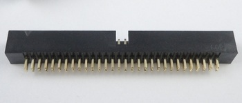 40 Pcs 1.27mm x1.27 mm Box header 2x30 Pin 60 Pin dual rows Through Hole DIP type Straight Male Shrouded PCB  IDC Socket