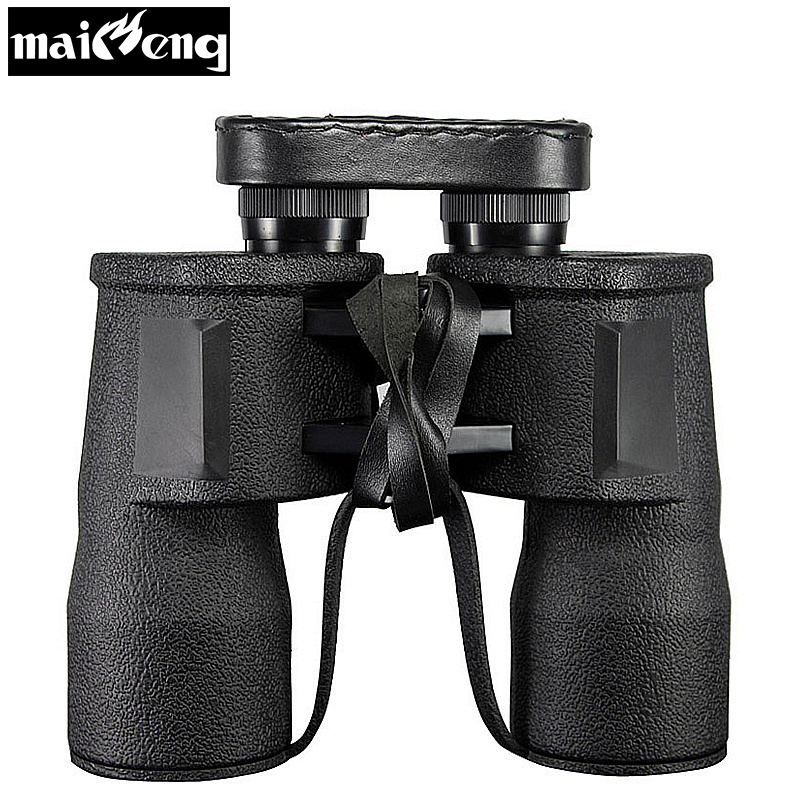 Powerful Binoculars World War II German Military Binoculars Telescope HD 10X50 High Quality Army binocular BAK4