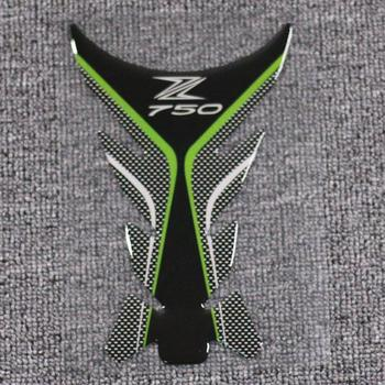 For Kawasaki Z750 Motorcycle Fuel Tank Cover Pad Sticker Decals Protector Motor Protection