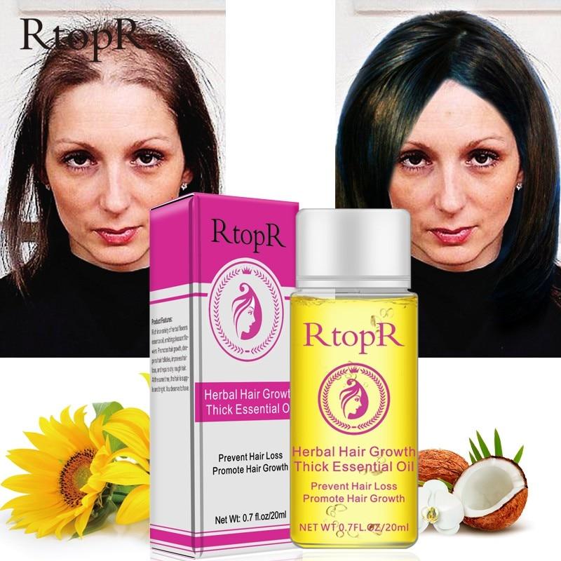 20ml Herbal Hair Growth Essential Oil Anti Hair Loss Thick Fast Treatment Health Care Beau