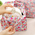2017 New Lunch Bag Flowers Insulated Thermal Pouch Storage Box Bento Cooler Picnic Tote High Quality Free Shipping N563