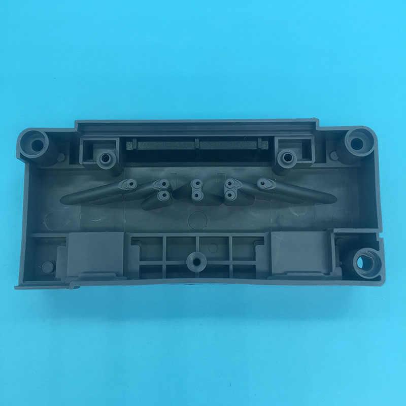 DX5 Printhead Pelarut Manifold Mutoh Mimaki Allwin Eco Solvent Plotter Printer DX5 Pelarut Adaptor F186000 DX5 Printhead Cover
