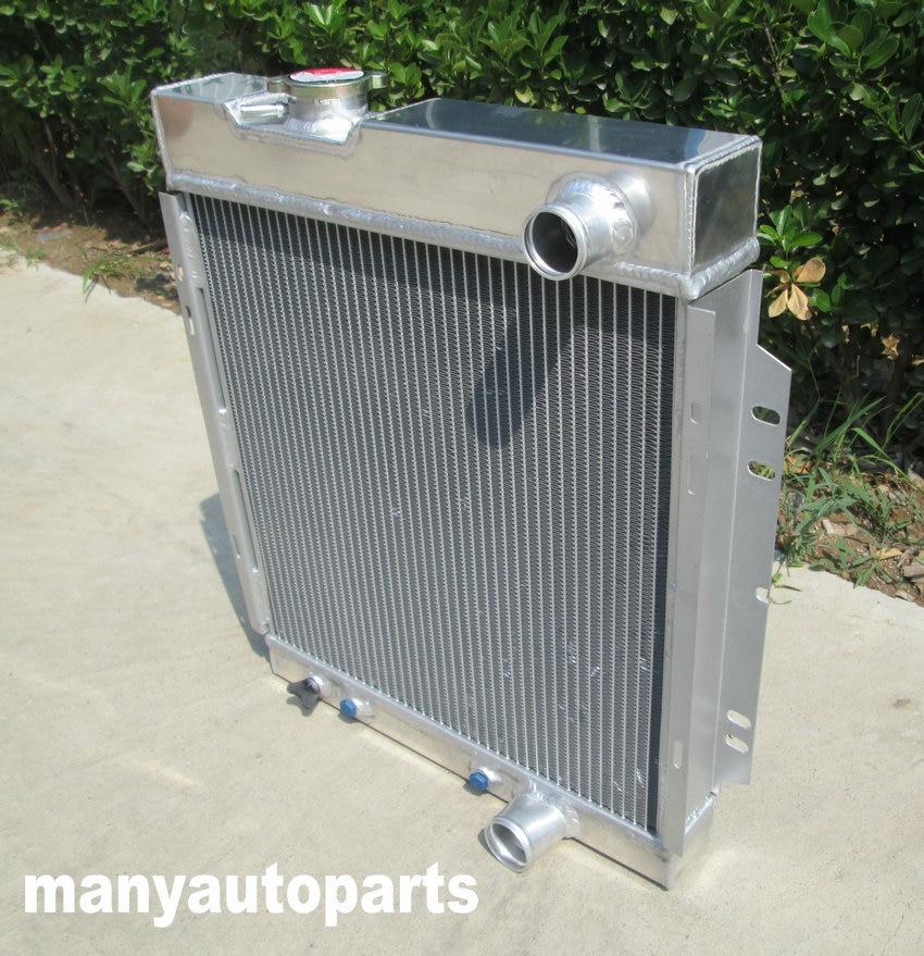 3 ROW 56MM Aluminum Radiator /& FAN For Ford MUSTANG V8 289 WINDSOR 1964 65 1966