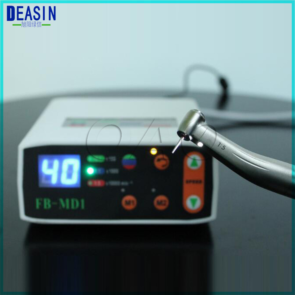 Dentist Excellect Kit Electric Micro Motor Dental LED Brushless Mini Micromotor 1:1 1:5 20:1 LED Contra Angle Handpiece