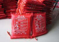 Fire Blanket Fire Escape Fire Blanket Welding Fireproof Glass Fiber Fire Certification Shipping 1 5 1