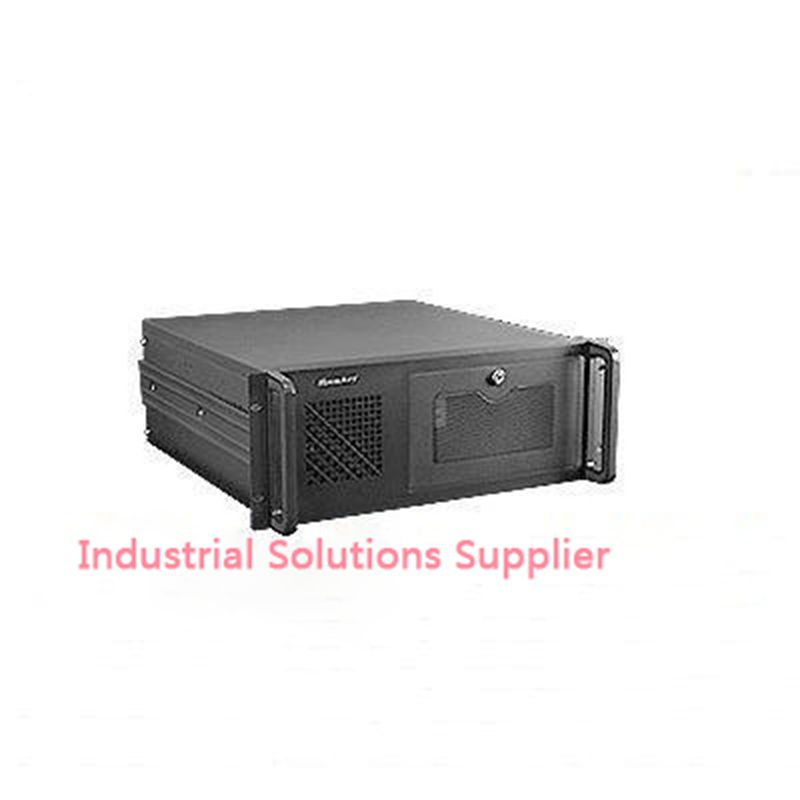 NEW 4u industrial computer case parkson 4u server computer case huntkey baisheng S400 4U standard computer case new 4u computer case 4u industrial computer case general pc motherboard monitor computer case 1 2mm