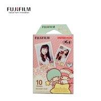 10 גיליון Futagohime מצלמה סרט פוג 'י Fujifilm Instax מיני 8 חמוד נייר Camer מיידי קריקטורה נייר מצלמת מיני 8 7 s 25 30 90