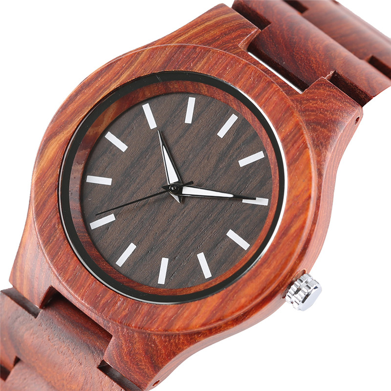 Creative Bamboo Watch Full Wooden Quartz-watch Nature Wood Casual Mens Wrist Watch Handmade Gifts for Men Women Reloj de madera цена и фото