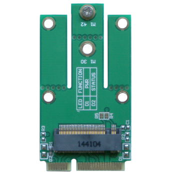 Mini PCIe to NGFF E key adapter mPCIe to A+E Key M.2 Wifi Bluetooth Wireless Network Card For Intel 7260NGW 8260NGW 7265NGW