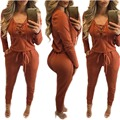 2016 Hot Sale Women New Fashion Sexy Winter Vestidos Jumpsuits Clubwear Party Bodycon Bandage ROMPER Bodysuits Bodywear catsuit