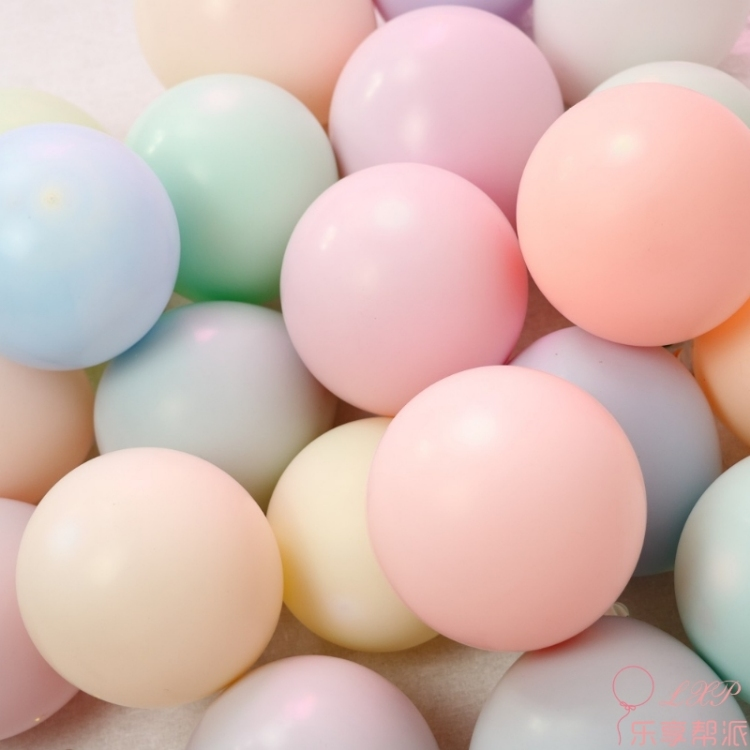 50pcs 10inch 2.3g Latex Balloon Macaron Color Wedding Decoration Baloons Baby Birthday Party Valentine's Day Decor Balloon