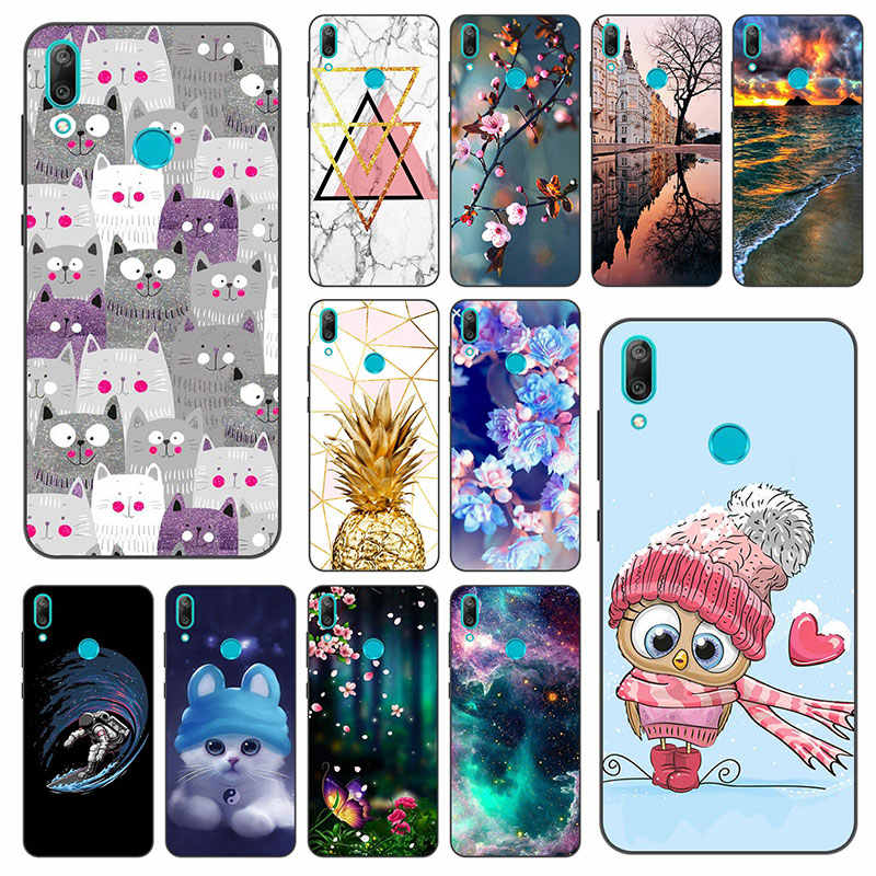 Honor 8A Case Bumper Huawei Honor 8A 8S Case Silicon Matte Back Cover Phone Case On Huawei Honor8A JAT-LX1 Honor 8S 8A Case Soft