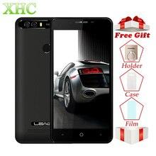 Оригинальный LEAGOO KIICAA смартфон питания 2 ГБ/16 ГБ двойной задней камерами отпечатков пальцев 5,0 »Android 7,0 MTK6580A 4 ядра 3g телефона