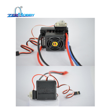 HSP RACING RC CAR SPARE PARTS ACCESSORIES BRUSHLESS ESC HOBBY WING WP-10BL60-RTR WATERPROOF цены