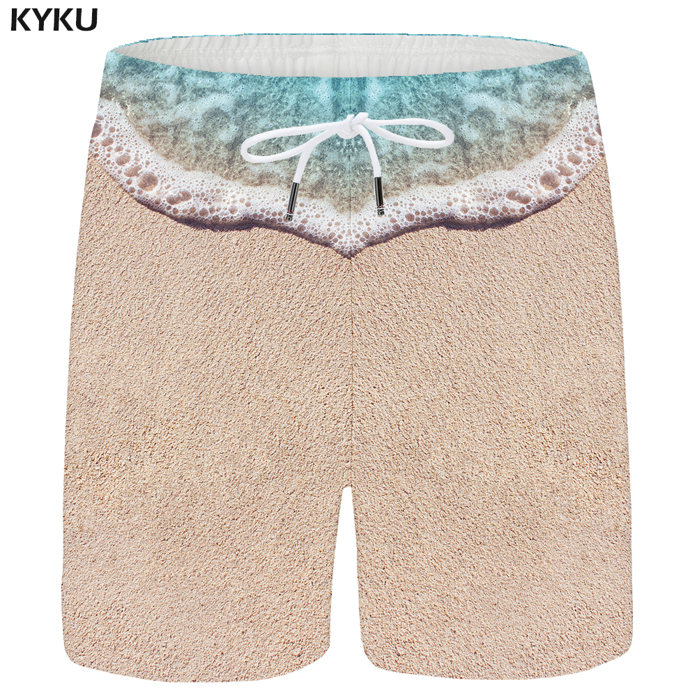 Kyku Brand Tiger Shorts Men Water Animal Casual Shorts Beach Forest 3d Printed Short Pants Casual Anime Mens Shorts New Summer Men's Clothing