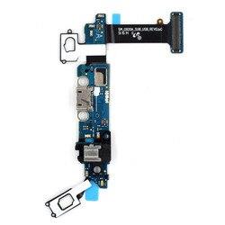 Telefon komórkowy Wymiana Część dla Samsung Galaxy S6 G920A Port Ładowania Podłącz Flex Cable + Gniazdo Słuchawkowe + Mikrofon + czujnik Fle