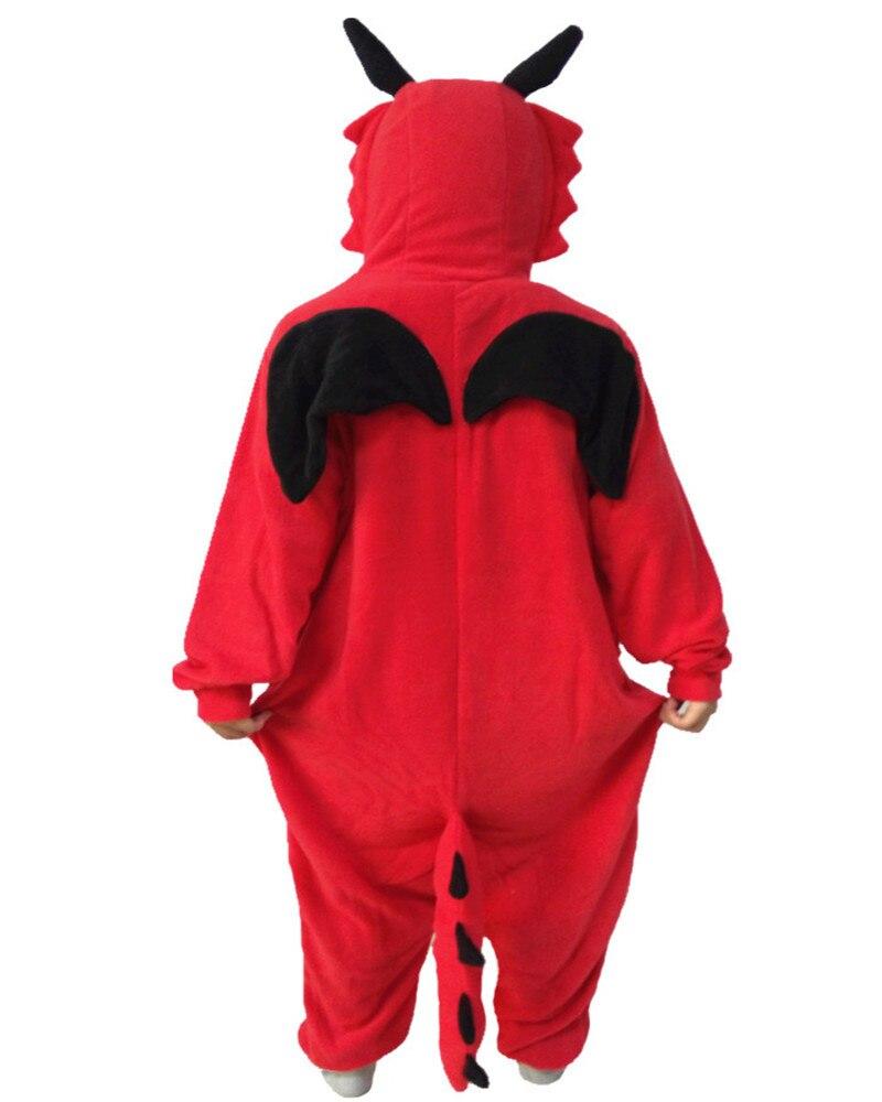 The New Red Dragon Onesie Leisure Fantasy Cartoon Apparel Winter Animal  Pajamas Whole Hot Sales Girls Jumpsuit Pyjamas Size S XL on Aliexpress.com   1069d5440