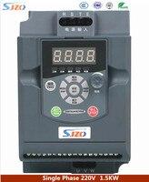 SIZO 100 м серый 1.5KW VFD переменной частоты Инвертор 1HP 220 В Авто Напряжение регулирования обеспечения инвертор нагрузки ёмкость