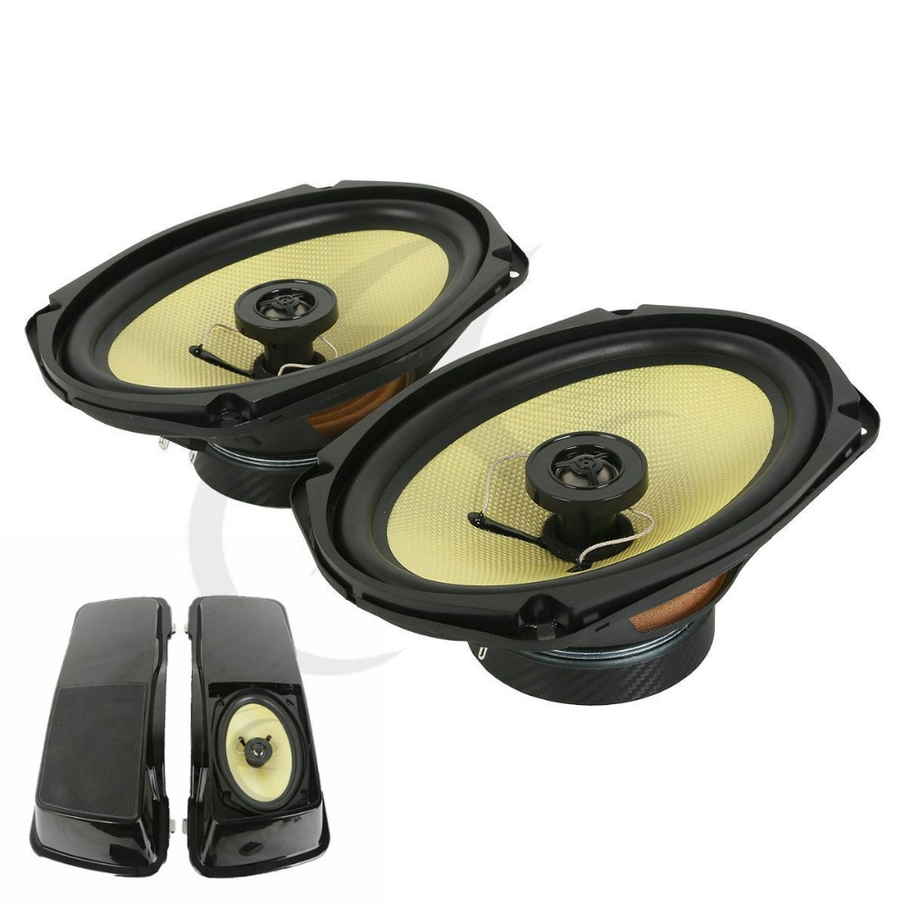 TCMT 6 x 9 Motorcycle Speaker For Harley Touring Road King Tour Electra Street Glide Ultra