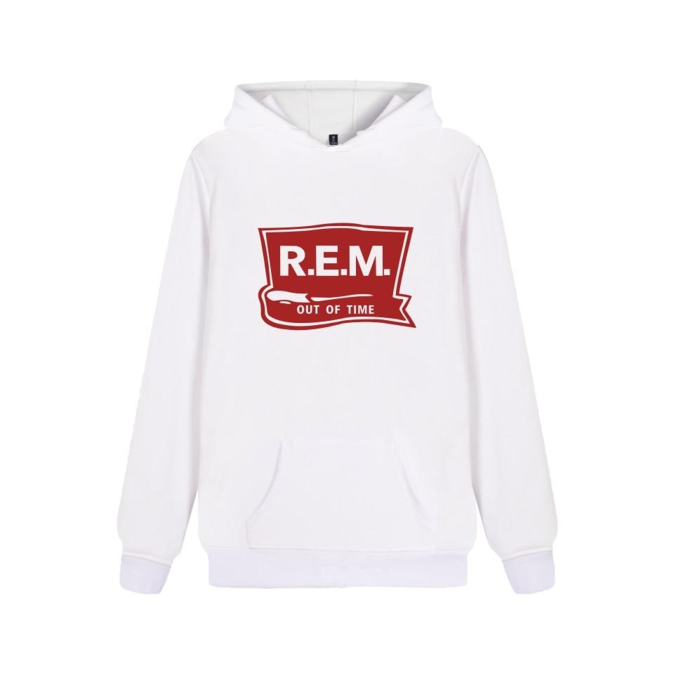Rack Band R.E.M Sweatshirt Hoodie Music Band C.R.E.A.M. Hoodies Sweatshirt For Couples Plus Size Rapid Eye Movement Clothing