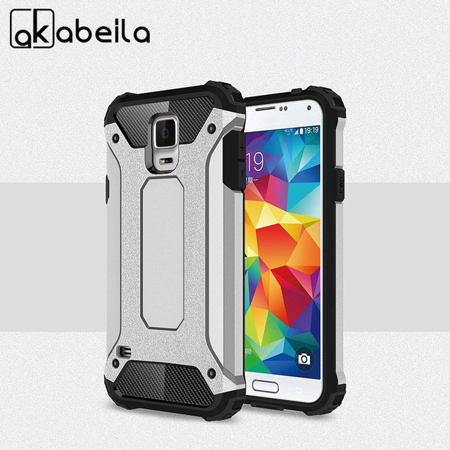 AKABEILA Cases For Samsung Galaxy S5 G900 S5 SV Neo G900F G900I G900M G900A G900T G900W8 G900K G900L G900S I9600 Housing Bag