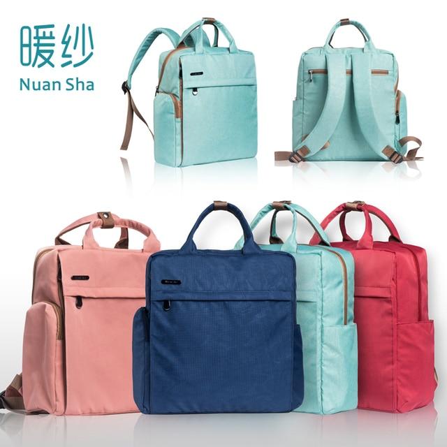 57dcef9c0869 Nuan Sha Baby Bag Bolsa Maternidade Baby Care Backpacks Diaper Bag Backpack  Nappy Maternity Bebe Changing Bag Handbags for Moms