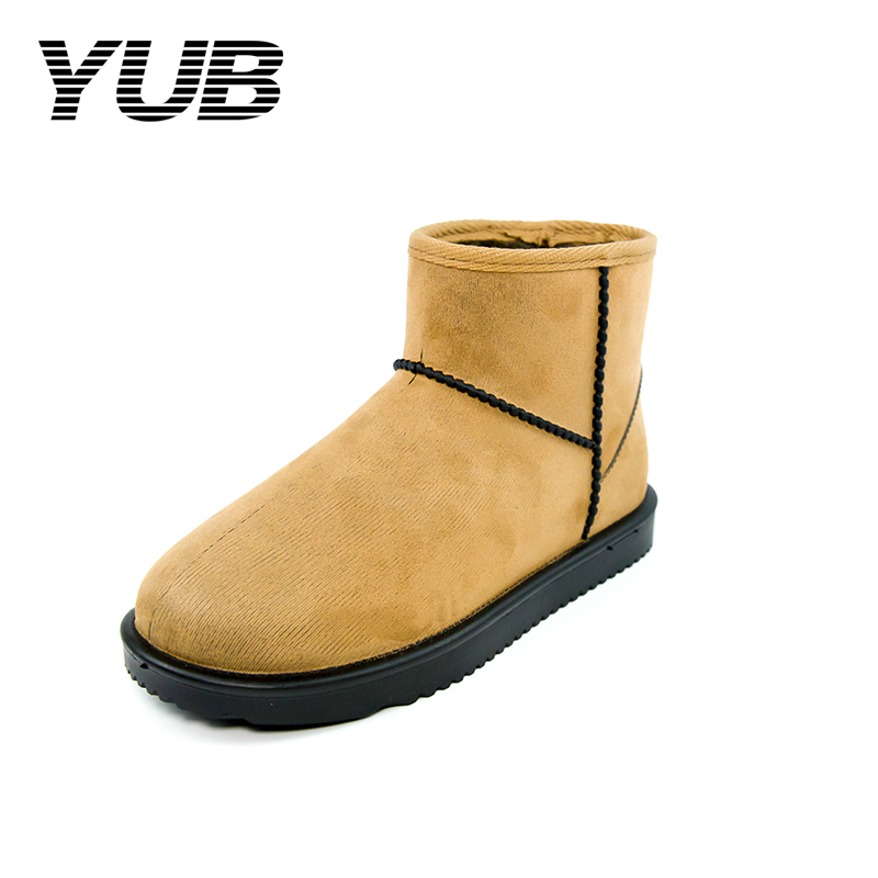 Yub Brand Women S Snow Boots With High Quality Flock Pvc