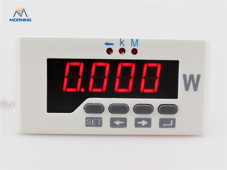 3P51  Factory price frame size 48*96mm hot sell three-phase led display AC digital active power meter d6 4o panel size 72 72 low price and high quality ac single phase led digital energy meter for industrial usage
