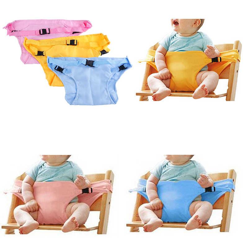 Nueva silla de almuerzo de 3 colores para bebés/cinturón de seguridad para asiento/asiento de bebé portátil/cubierta de silla de comedor/ bebe Seguridad