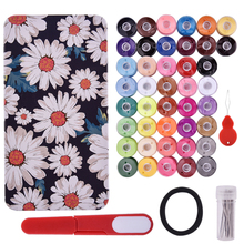 40 Color Polyester Sewing Thread and Quilting Tools Multifunctional Supplies Kit for Machine Hand Stitching Embroidery