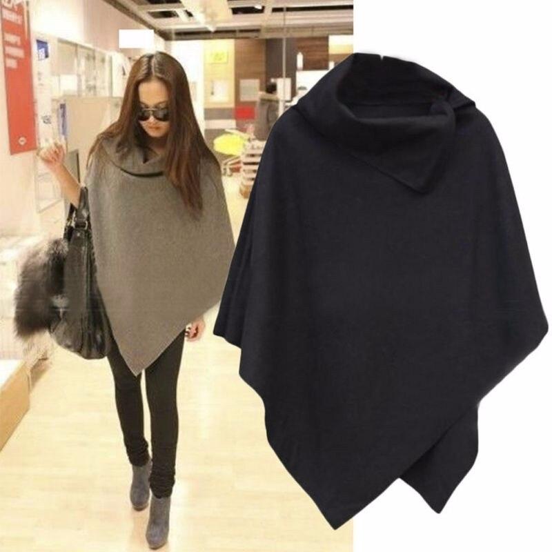 HTB1p2CxOpXXXXaIXVXXq6xXFXXXw - Women Coat Poncho Sweater Cape Outwear PTC 49