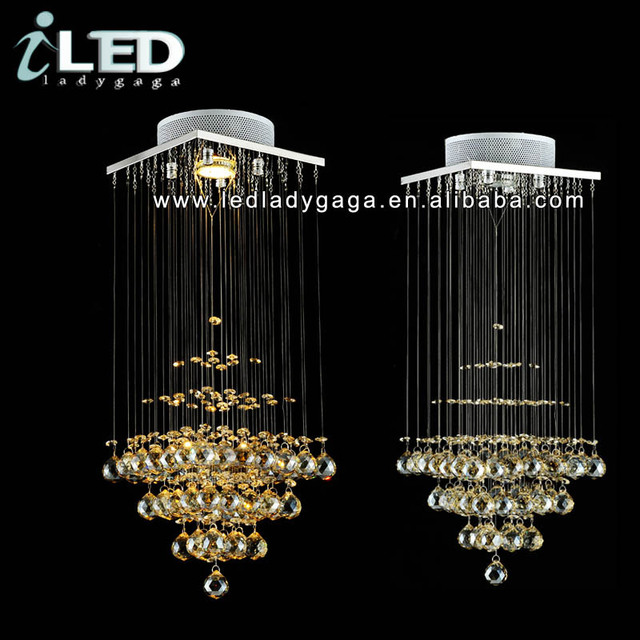 Dia200h600mm high quality k9 crystal mini chandelier shades dia200h600mm high quality k9 crystal mini chandelier shades ceiling hanging gu10 white aloadofball Images