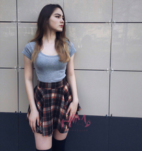 2017 Japan Women's Winter Woolen Skirt Party High Waist College Style Lattice Tutu Skirt 5 Colors Pleated Plaid Skirt For Lady