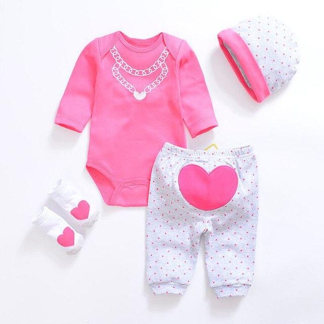 734dd9e07 2018 recién nacido Bebé Ropa unisex ropa set algodón o-cuello de manga  larga de. Sitúa el cursor encima para ...