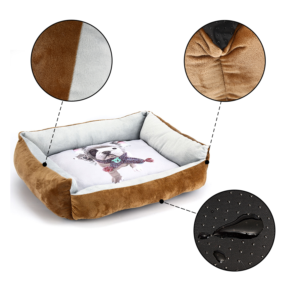 Pet Dog Bed Sofa Dog Waterproof Bed For Small Medium Large Dog Mats Bench Lounger Cat Chihuahua Puppy Bed Mat Pet House Supplies (9)