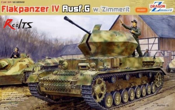 RealTS DRAGON 6746 1/35 FlaK 43 Flakpanzer IV Ostwind w/Zimmerit вспышки для фотоаппаратов
