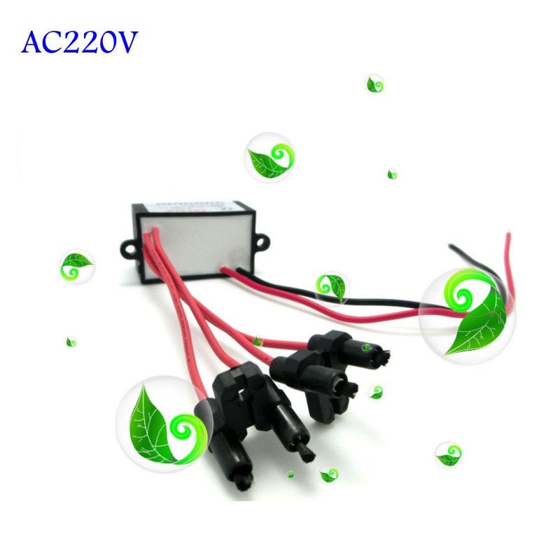 Diy Newest 4 Head Air Ionizer 220v Purifier Negative Ion Sterilizer Smoke Generator Remove