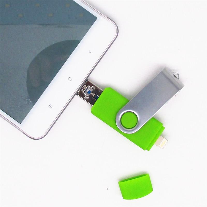 i-Easy Drive i-Flash iFlash Drive HD 16GB 32GB 64GB Flash Drive - Penyimpanan eksternal - Foto 3