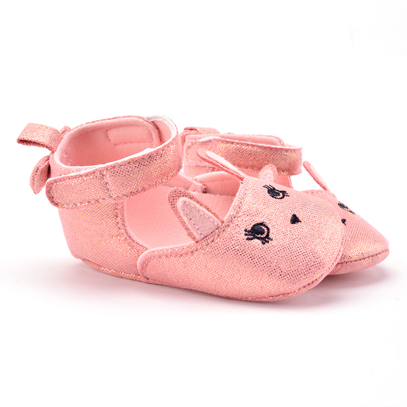 Newest Infant Baby Girls Casual Prewalkerborn Rabbit Printed Shoes 0-1 Years