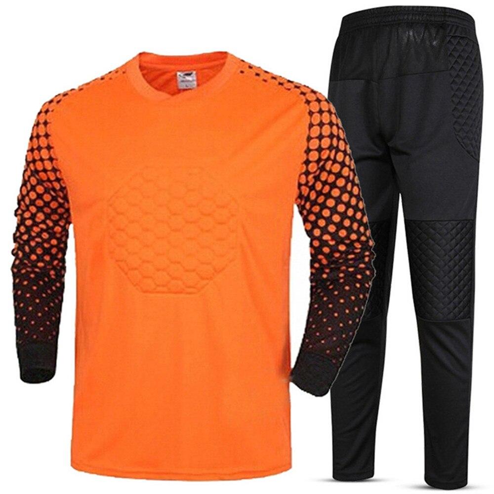 Kids Youth Soccer Jerseys Set Training Pants Survetement Football Sports Kit Tracksuit Goalkeeper Jerseys Suit Custom Print Draw