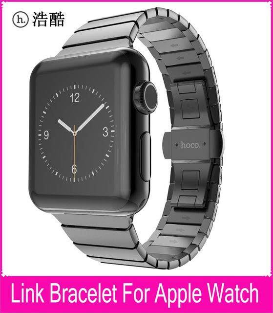 TOP Quality Link Bracelet Strap For Apple Watch Series 3 2