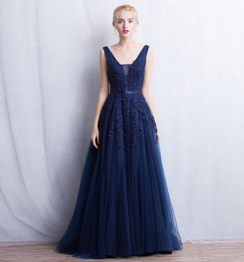 Vestido de festa Νέο Coming V Λαιμός με Lace Appliques - Ειδικές φορέματα περίπτωσης - Φωτογραφία 5