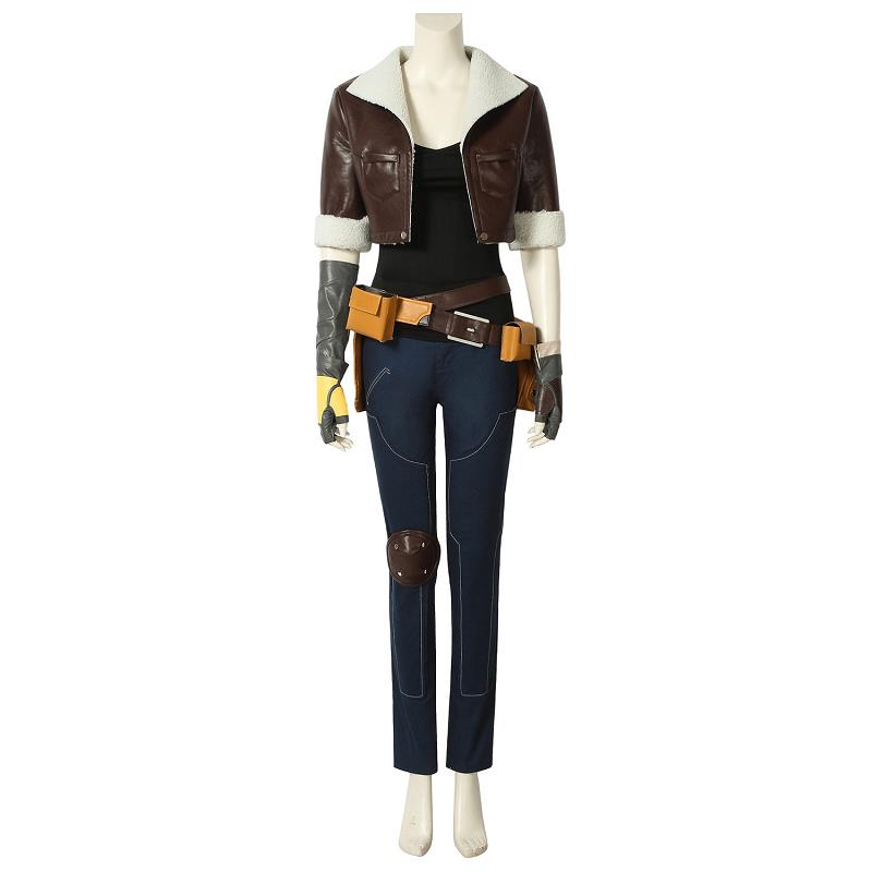 Battle Royale Penny Cosplay Costume Leather Jacket Halloween Party Christmas Adult Women Superhero Outfit Full Set Custom Made