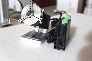 Image 2 - Máquina de grabado láser de fibra, máquina rotativa de marcado láser, eje rotativo, accesorios para máquina de grabado