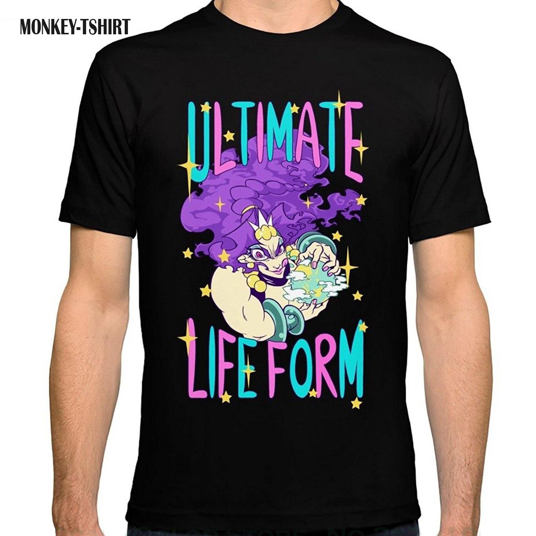 Футболка хорошее качество футболка Топы корректирующие Для Мужчинs приключения Джоджо Вдохновленный: Ultimate форма жизни Карс Встроенная Tee