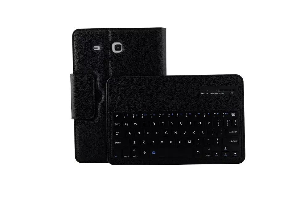 2 in 1 Removable Wireless Bluetooth Keyboard protective leather Case For Samsung GALAXY Tab E 9.6 T560 T561 Tablet Keyboard Case
