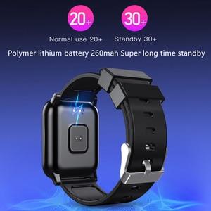 Image 4 - スマート時計バンド Bracelect 1.3 インチ画面血圧酸素フィットネスブレスレットスポーツスタンバイ男性スポーツフィットネストラッカー