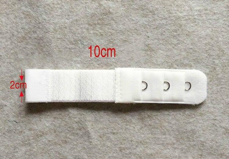 Новинка, 1 шт., 1 ряд, 3 крючка, удлинитель для бюстгальтера, нейлоновая застежка, удлинитель, эластичный на лямках, удлинитель для бюстгальтера, регулируемые аксессуары для интима